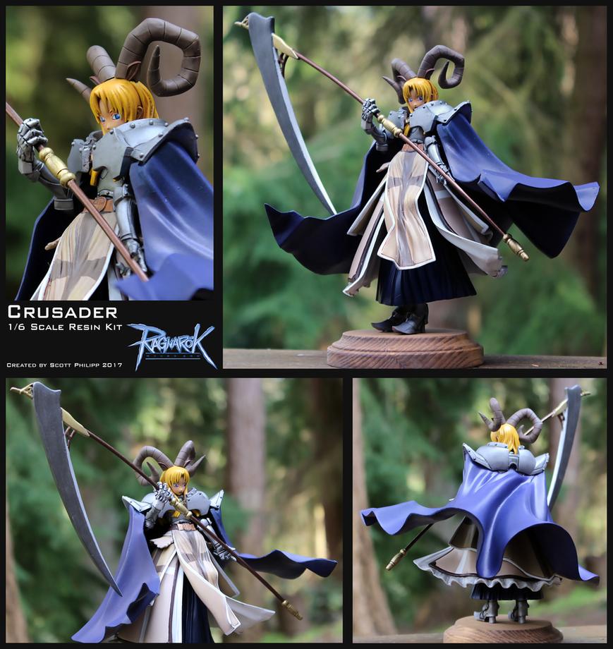 Ragnarok Online - Female Crusader Resin  Figure by shadowvfx