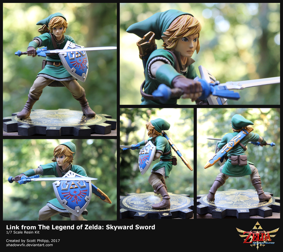 Link Figure from Skyward Sword by shadowvfx