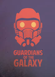 Guardians of the Galaxy - Minimalist Poster by thefoodispeople