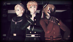 { MMD x APH } ECHO ft. The Magical Trio