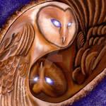 Athena And Nyx by Terra-Leone