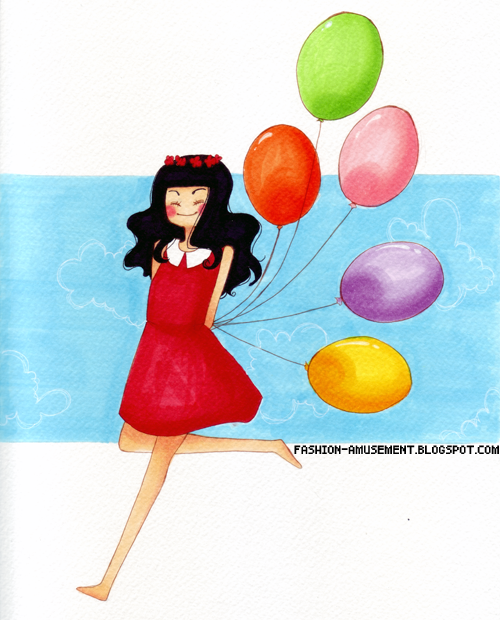 Bright colors by FashionAmusement
