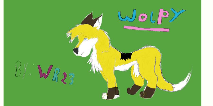 Wolpy fan art character sheet by Wolvesreign23