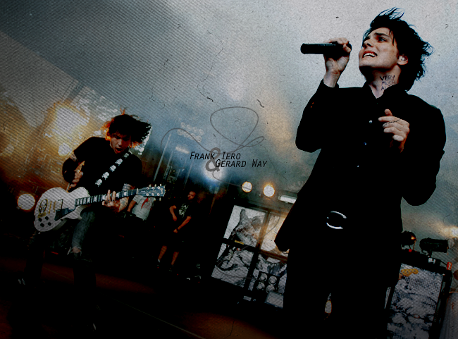 Frank Iero and Gerard Way by Skittles1 on DeviantArt