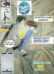 TOONAMI comics 2 cover yu yu hakusho by angrysmurf