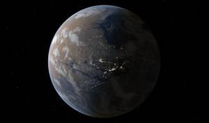 Terraformed Mars 2500 AD