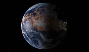 Terraformed Venus 2600 AD
