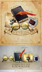 Bookmarks for Harry Potter series