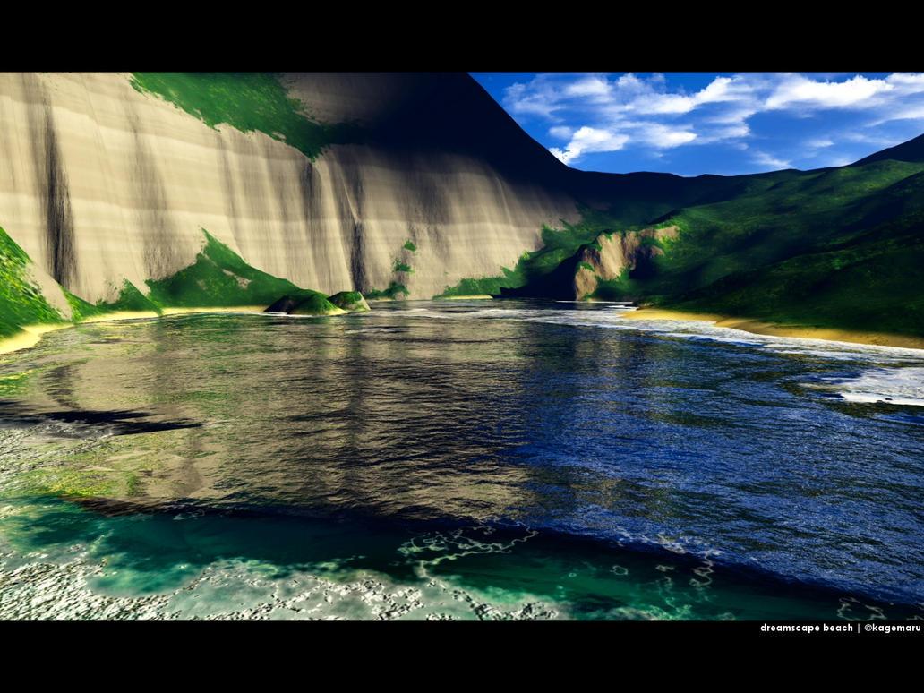 Dreamscape Beach by kagemaru