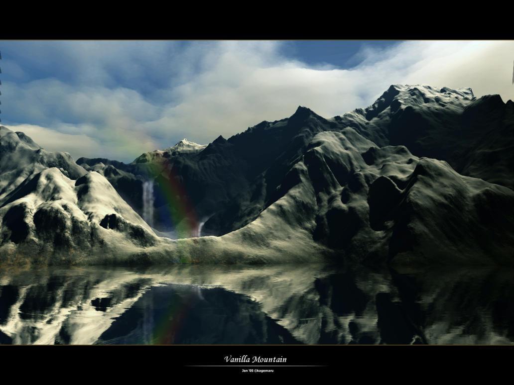 Vanilla Mountain by kagemaru