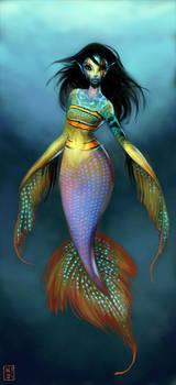 Tiny Tropical Mermaid
