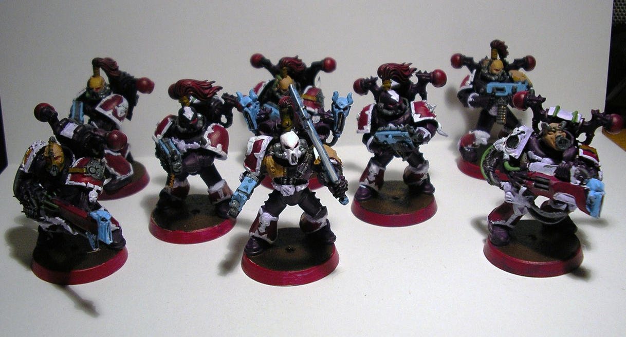 Noise Marines by chaotea on deviantART