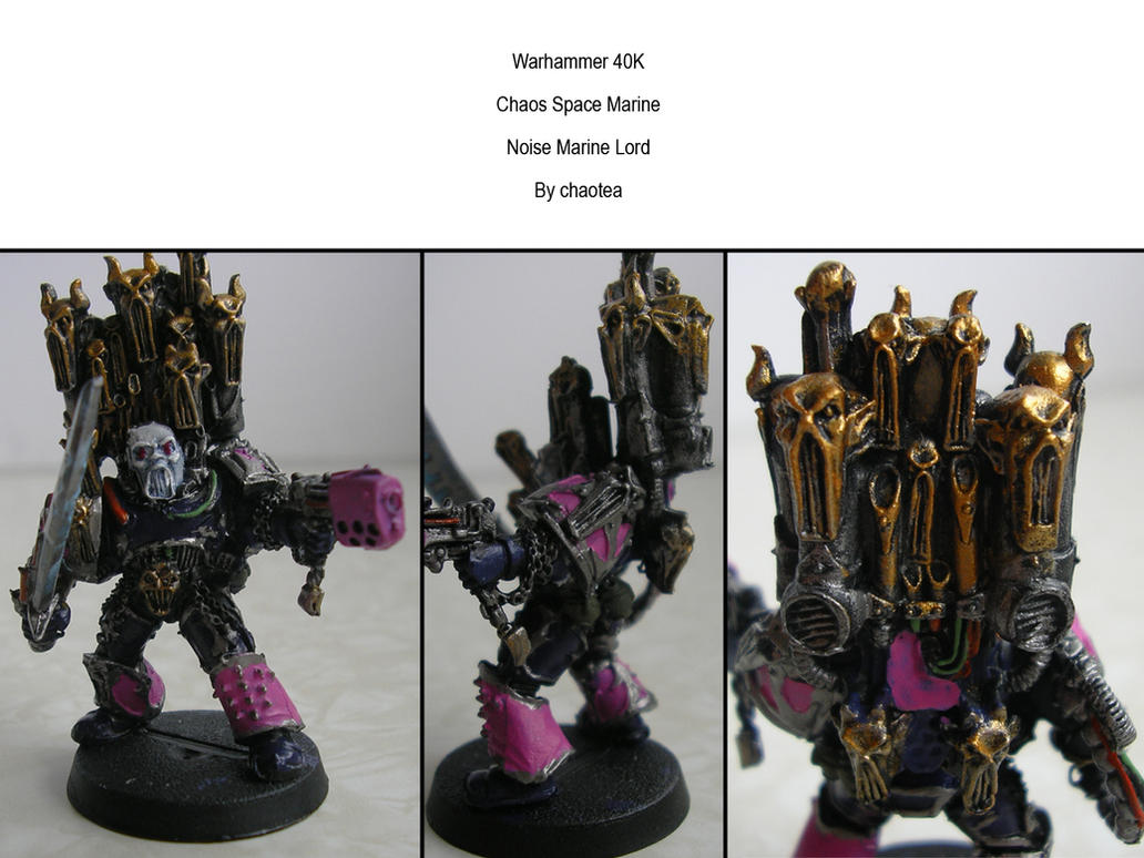 Noise Marine Lord by chaotea on DeviantArt