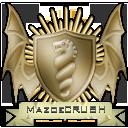 Warframe Clan 'MazoeCRUSH' Emblem Version 2.0.1 by chaotea
