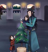 Merry Elven Christmas by JayEyBee