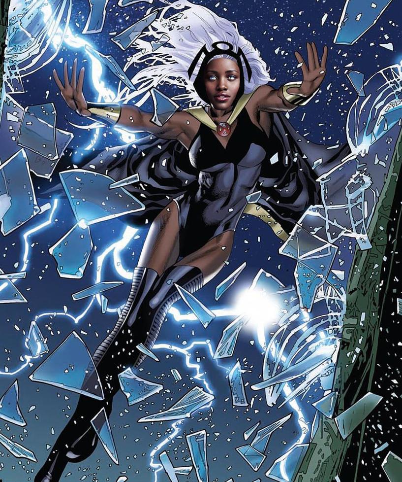 Lupita Nyong'o as the X-Woman Storm #3 by RobOfWar