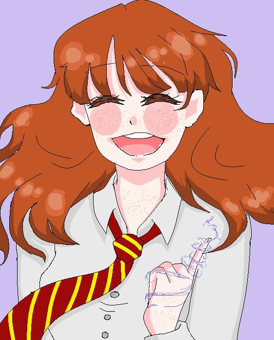 Hermione by Ten-Senpai