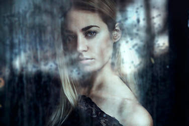 45/52 Through the window - Summer rain by FedericoSciuca