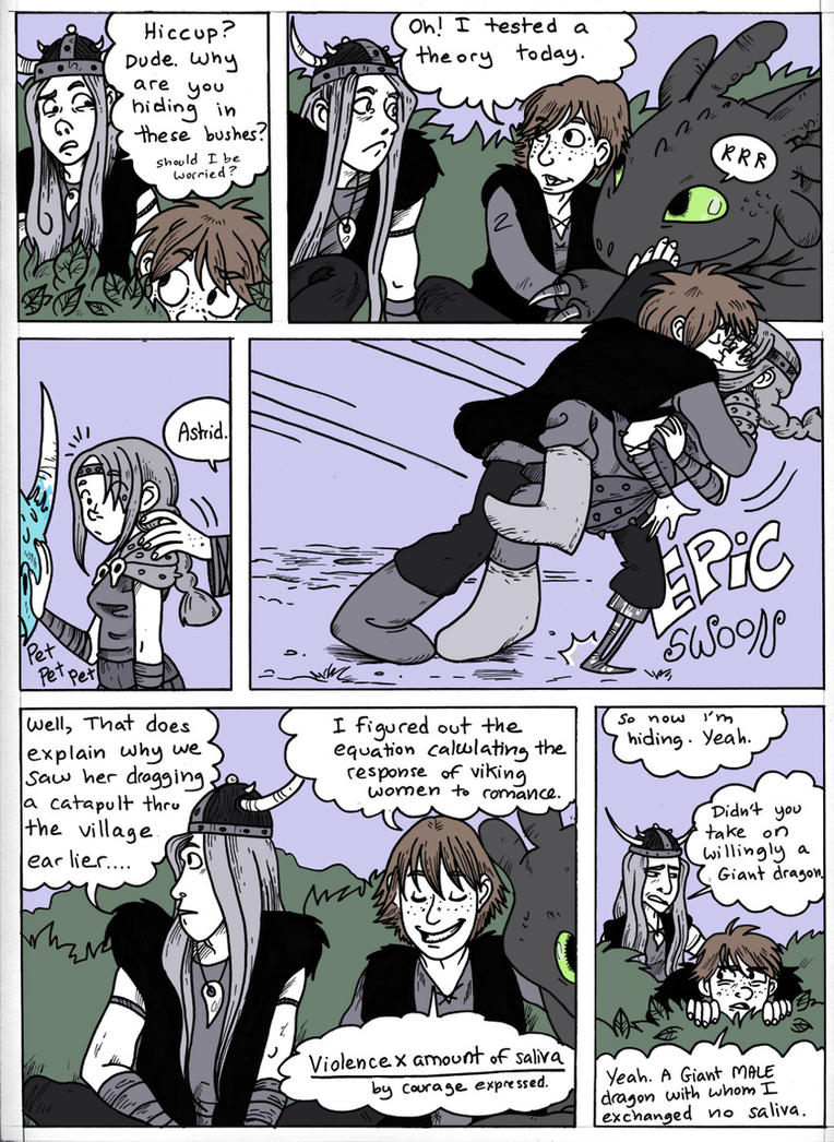 Hiccup loves astrid part 1 by secondlina on deviantart hiccup loves astrid part 1 by secondlina ccuart Image collections