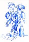 Megamind - Blue sketch