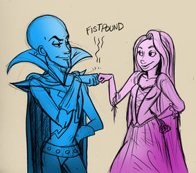 Megamind - Tangled are buds
