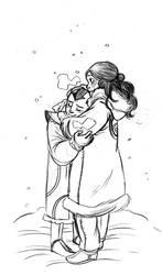 Avatar - Coat hug by secondlina