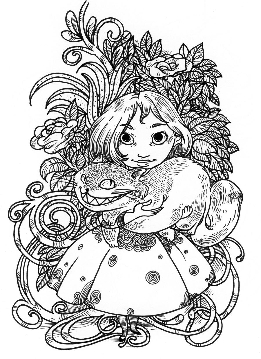 Wee Alice by secondlina