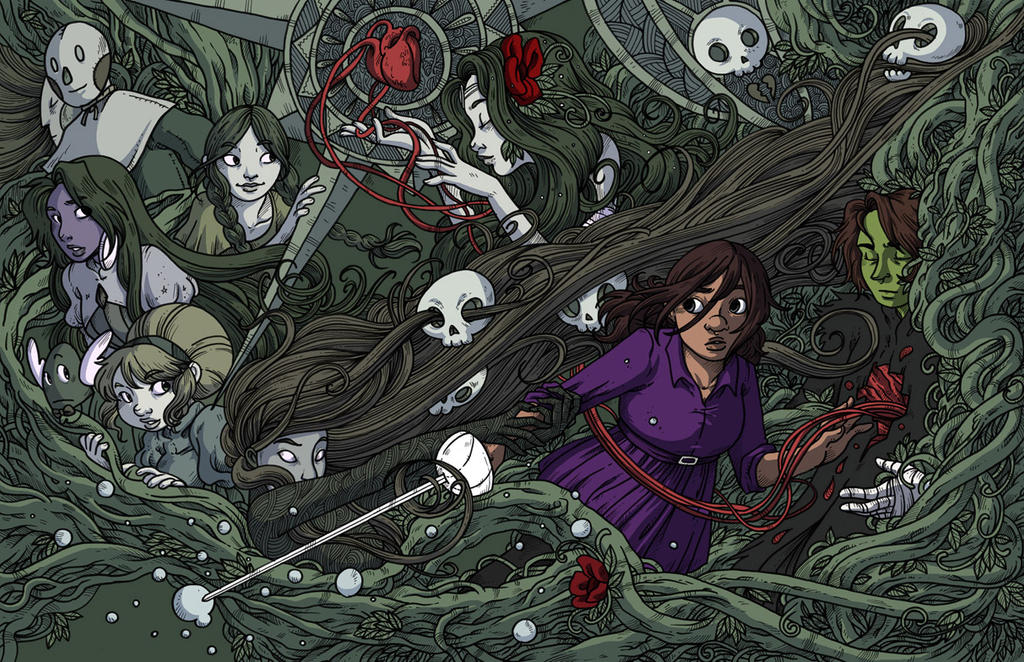 Namesake - Hardcover book 2 colored by secondlina