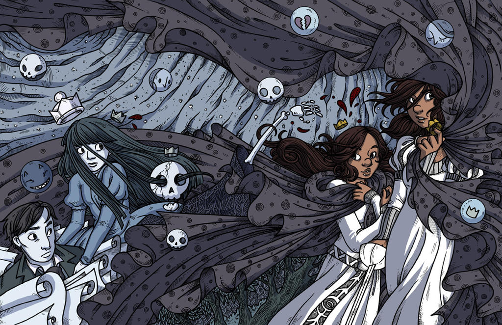 Namesake - Hardcover book 1 Colored by secondlina on ...