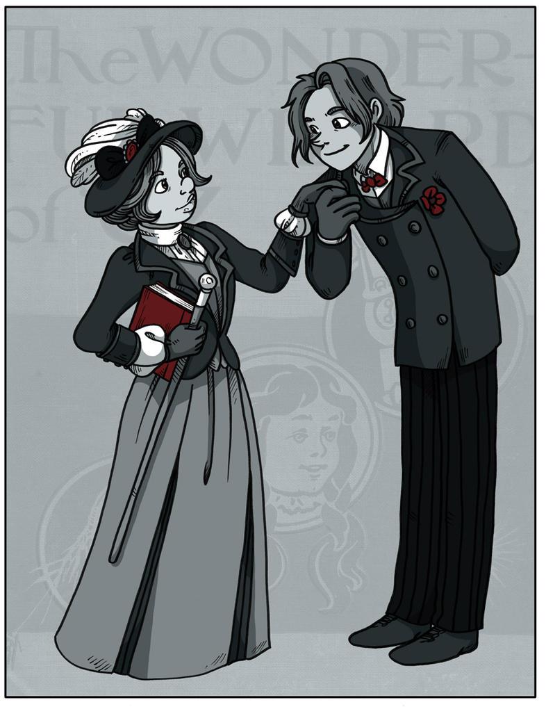Namesake - 1900 by secondlina