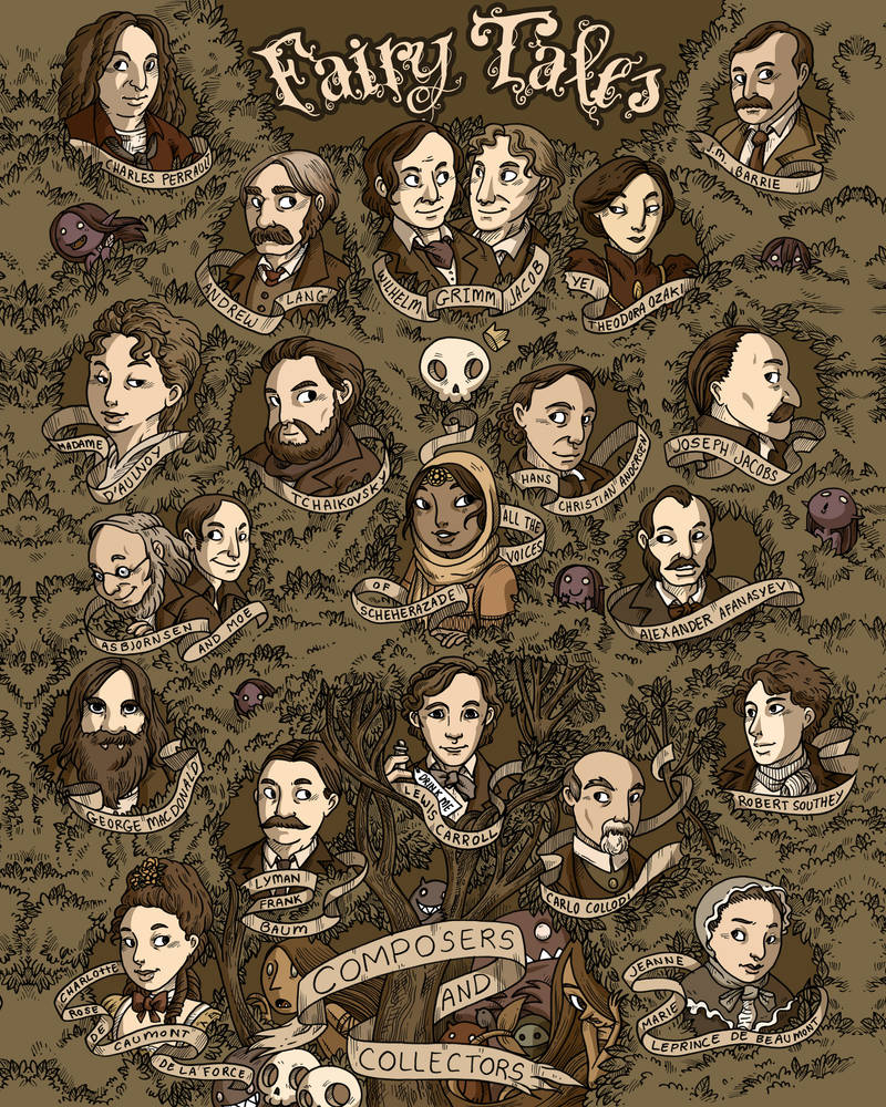 Fairy tale - Composers and creators by secondlina