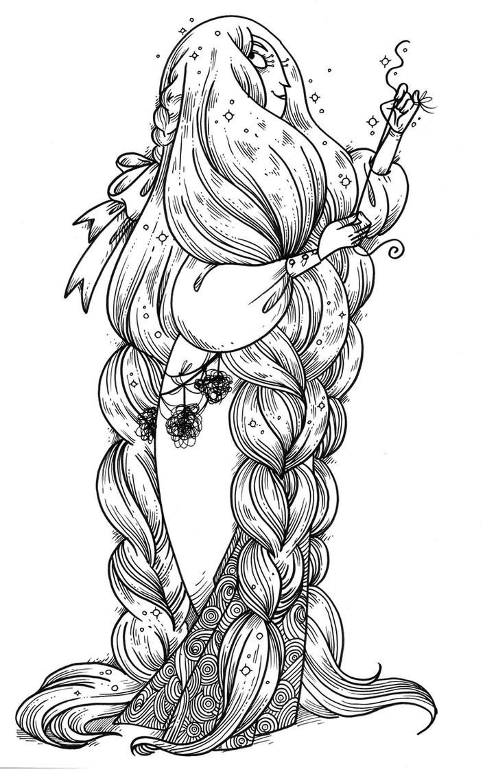 Hairwitch by secondlina