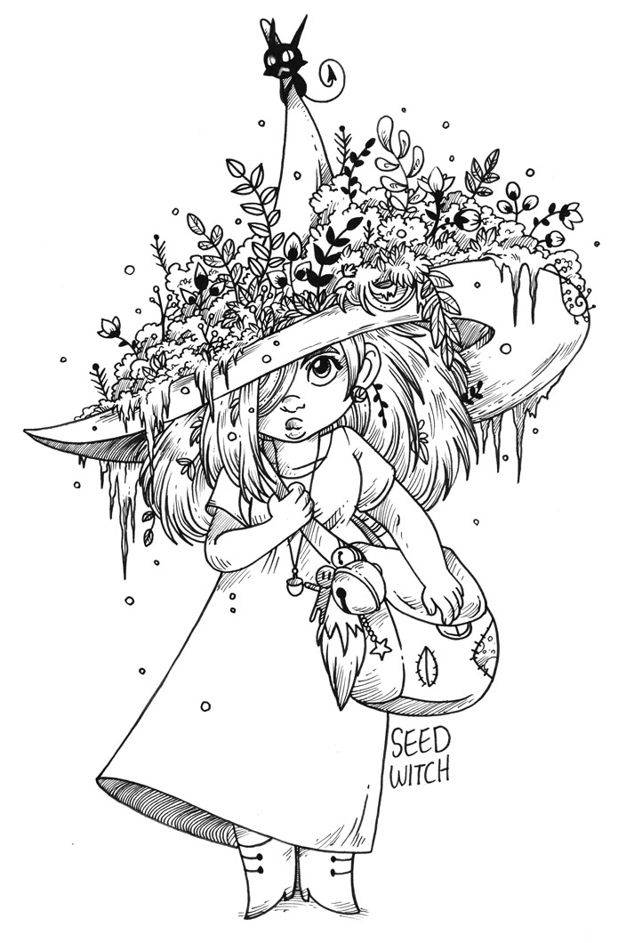 Seed Witch by secondlina