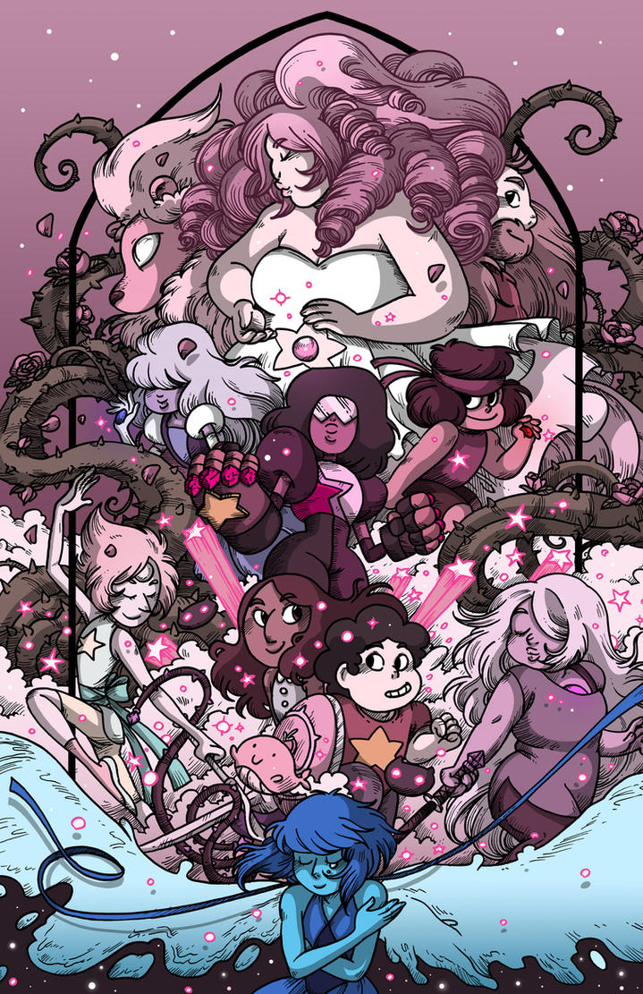 We are the Crystal Gems! by secondlina