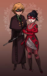 Victorian Ladybug by secondlina