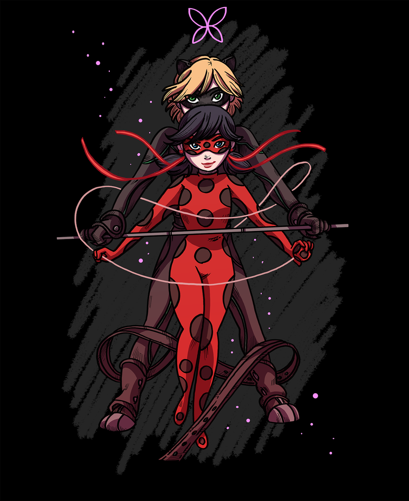 Miraculous Ladybug - Shirt design by secondlina