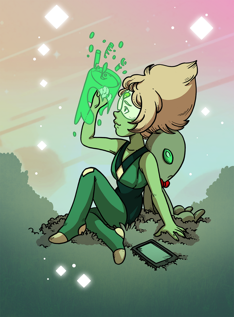 A Peridot by secondlina