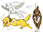 Wolves sketch dump 2