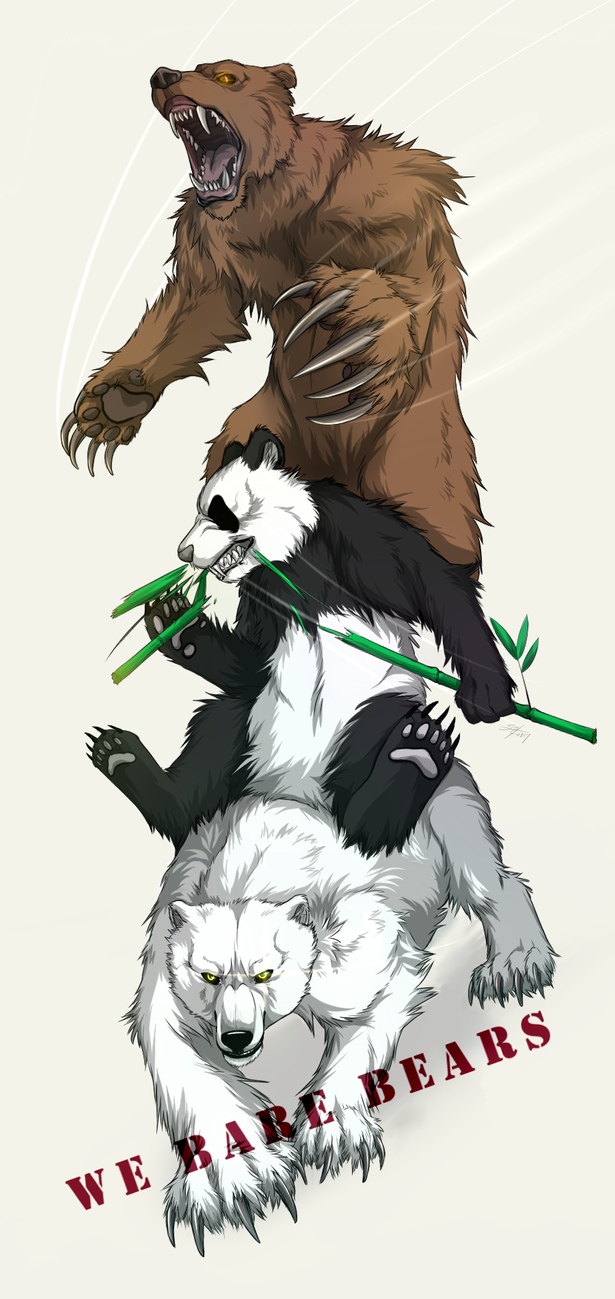 We Bare Bears!! by Marshcold