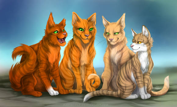 Firestar and Sandstorm's Family
