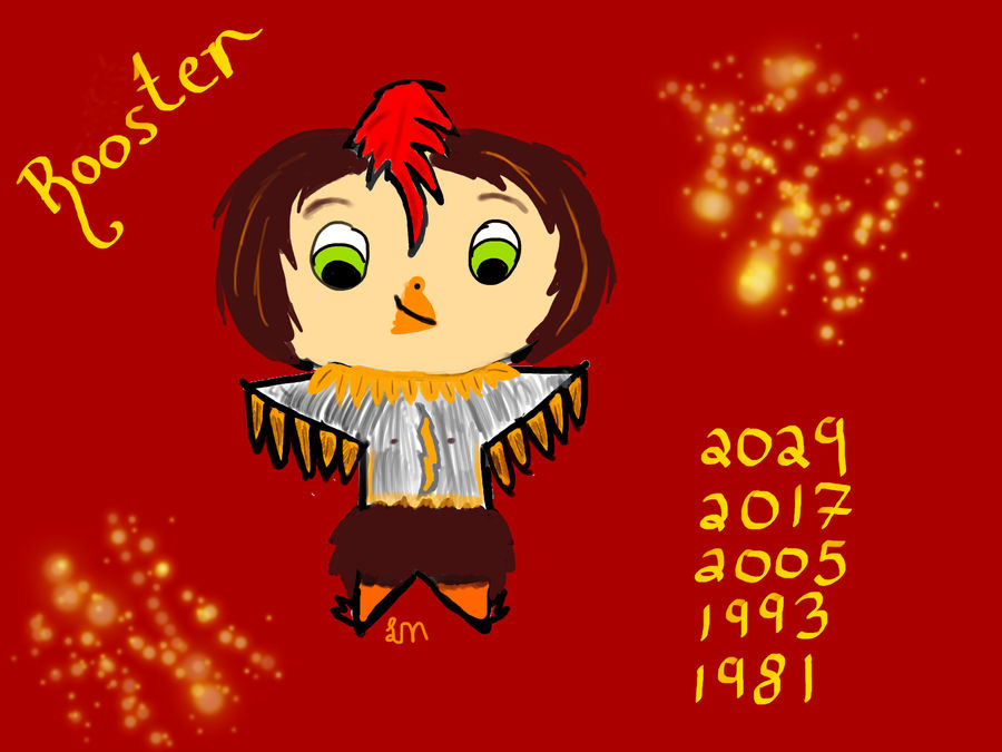 Chinese Zodiac-Rooster by Lily-Mae13 on DeviantArt