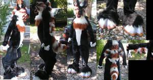 Monster dog fursuit