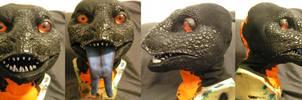 Gila Monster head