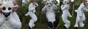White Ram Fursuit