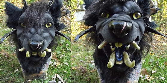 Theaka, Gnoll Paragon by ArtSlavefursuits