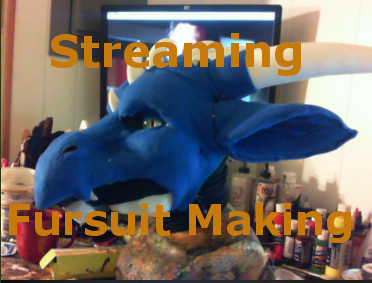 Streaming fursuit making: 1100pm EST until wheneve by ArtSlavefursuits