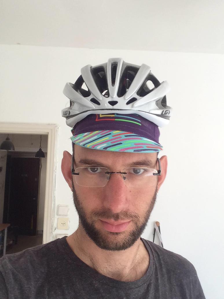 Help my head has grown too big for my helmet by thedatadoctor