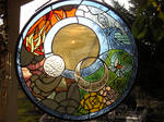 Elements stained glass