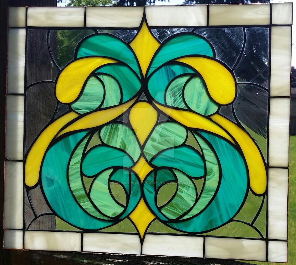 Untitled Window 1 by LoneDireWolfess
