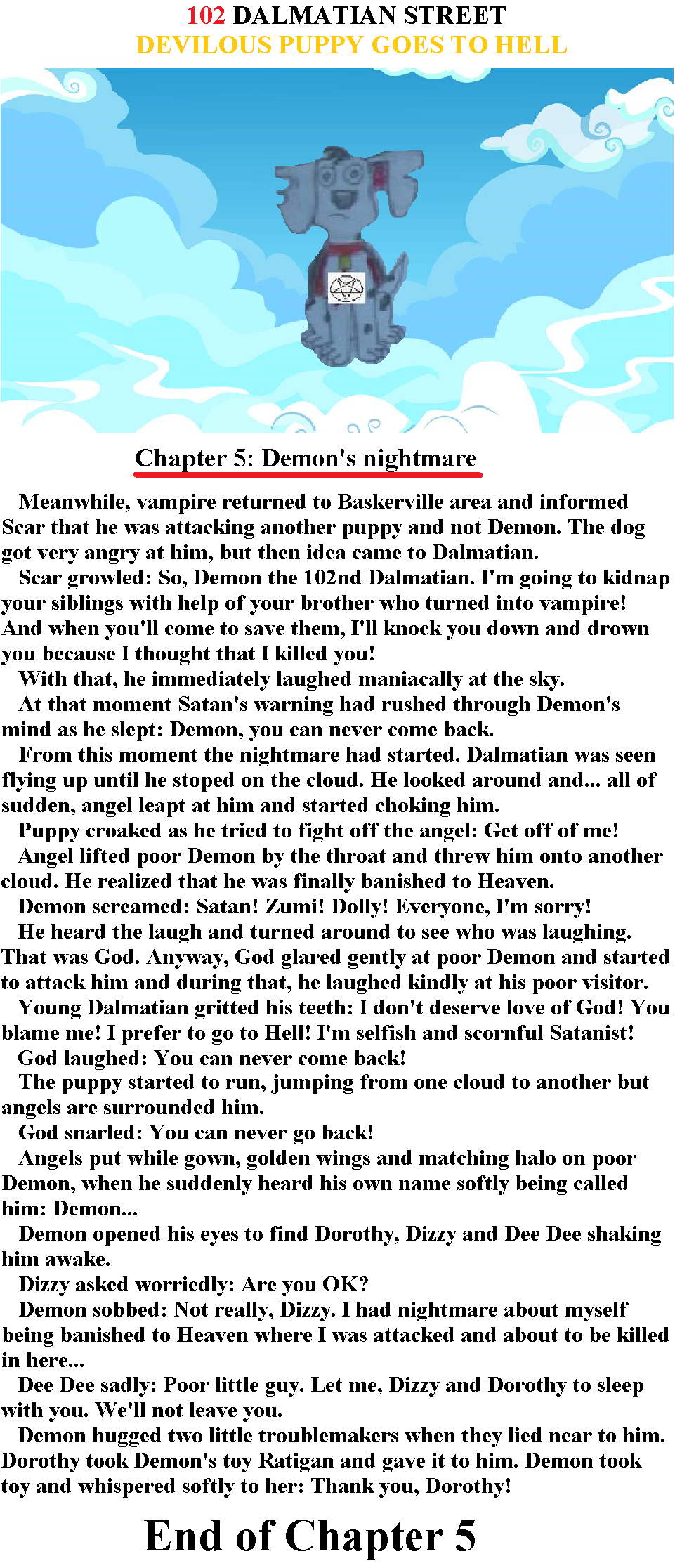 102DS: Devilous puppy goes to Hell - Ch 5